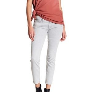 🔹Current/Elliot The Stiletto Jeans , Soft Gray 24